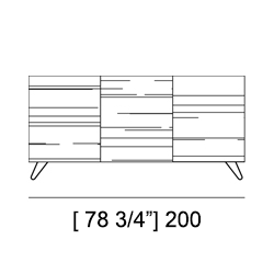 SHERWOOD SIDEBOARD Specifiche Tecniche