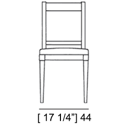 VIENNA CHAIR Specifiche Tecniche