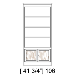 Direttorio bookcase element