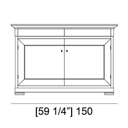 BIEDERMEIER SIDEBOARD specifiche tecniche