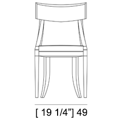 CLARA CHAIR Specifiche Tecniche