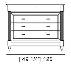DIRETTORIO CHEST OF DRAWERS Specifiche Tecniche