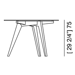 BOOMERANG TABLE Specifiche Tecniche