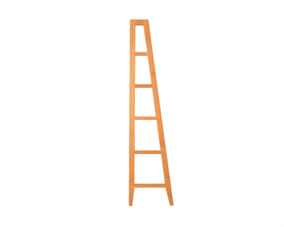 Zero wall-units side ladder
