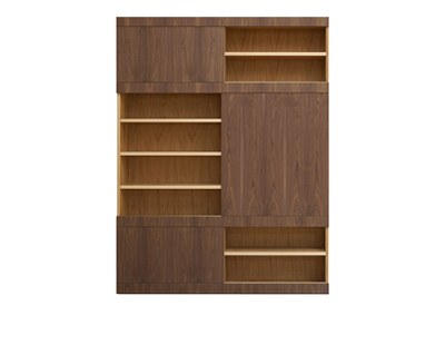MASCHERA WALL UNIT SLIDING DOORS